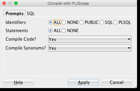 plscope-utils - Compile Options